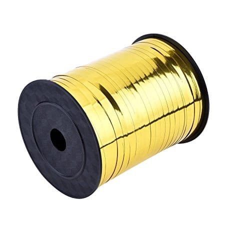 Metallic Gold Balloon Ribbon (SELECT HOW MANY METRES)