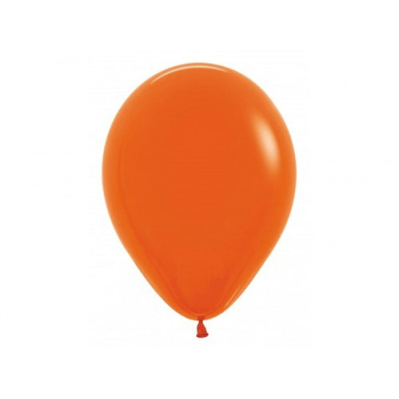 Balloons - Fashion Solid Orange - Must Love Party