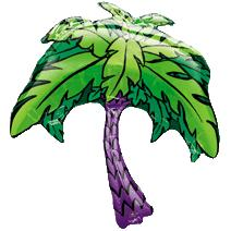 Palm Tree Foil Balloon - Must Love Party