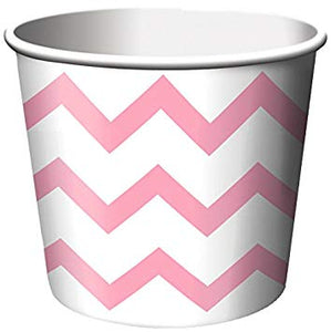 Chevron Candy Pink Treat Cups - Must Love Party