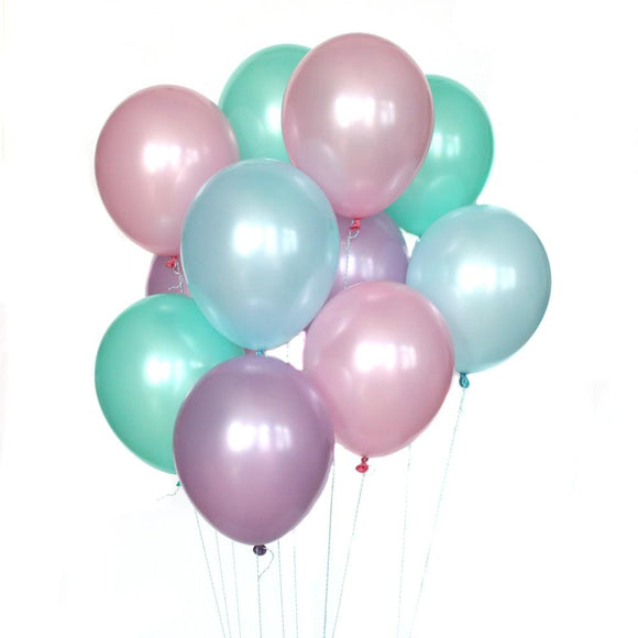 Pearly Mermaid Balloon Bundle - Must Love Party