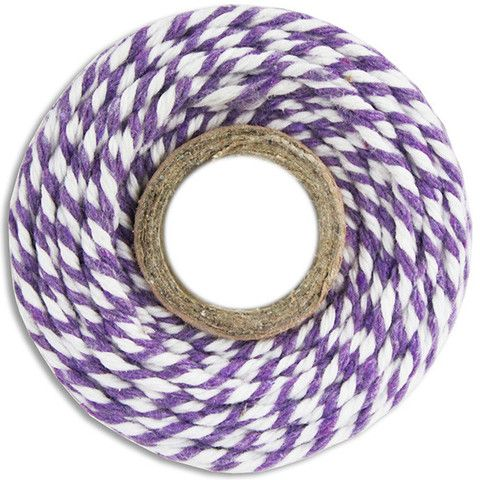 Purple Bakers Twine - Must Love Party