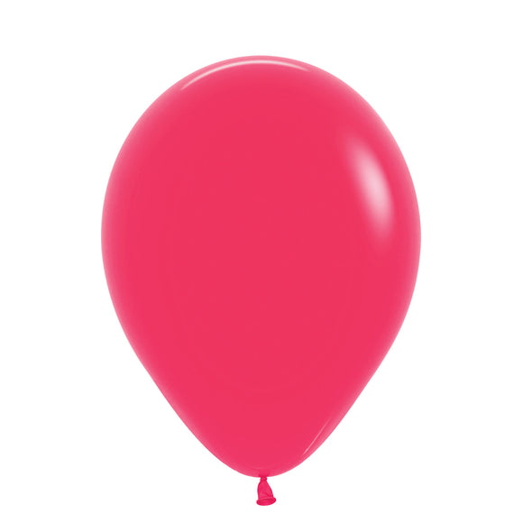 Mini Fashion Solid Raspberry Balloons - Must Love Party