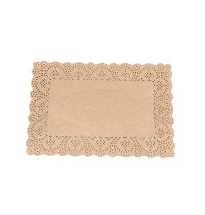 Natural Rectangle Doilies - SELECT YOUR SIZE