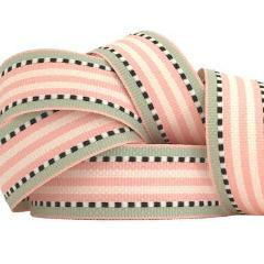 Pink & Mint Striped Ribbon - Must Love Party