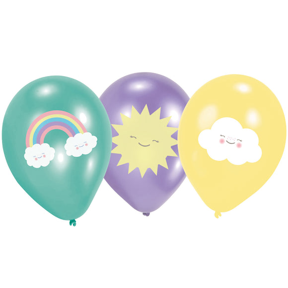 Rainbow and Cloud Balloons (6)
