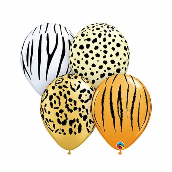 Animal Print Balloons (4) - Must Love Party