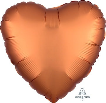Satin Luxe Amber Heart - Must Love Party