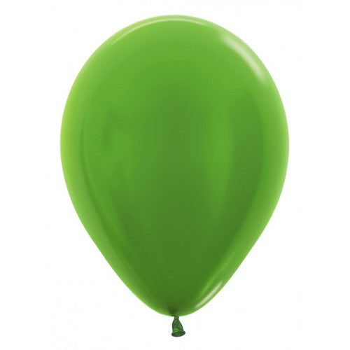 Balloons - Metallic Lime Green - Must Love Party