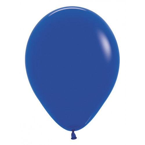 Balloons - Fashion Solid Royal Blue - Must Love Party