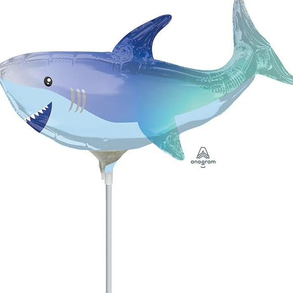 Mini Shark Foil Balloon - Must Love Party