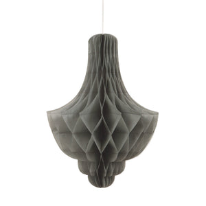 Silver Honeycomb Chandelier - Must Love Party
