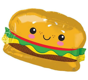 Hamburger Foil Balloon