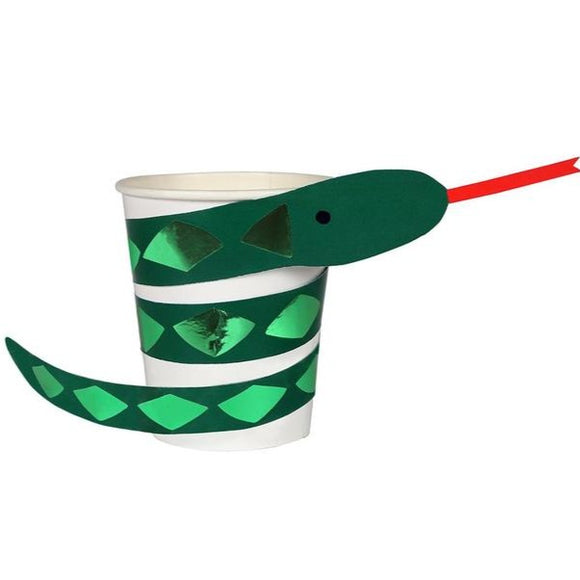 Go Wild Snake Cups - Must Love Party