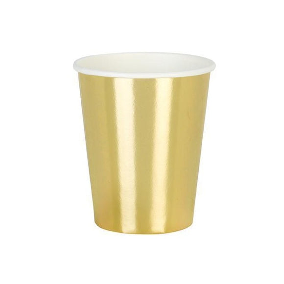 Large Gold Foiled Paper Cup (8)