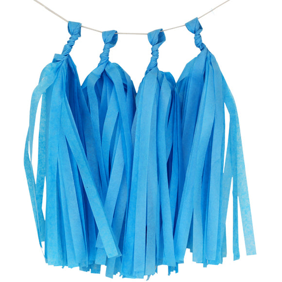 Powder Blue Tassels (12pcs)