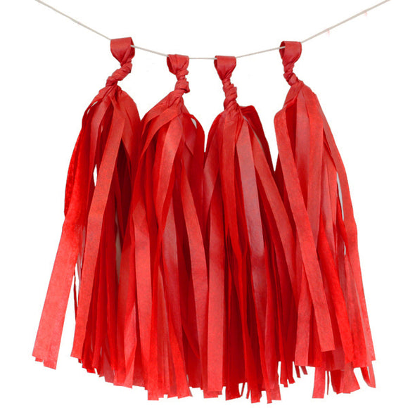Red Tassels (12pcs) - Must Love Party
