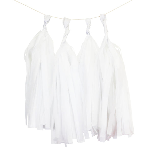 White Tassels (12pcs) - Must Love Party