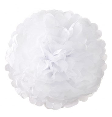Pom Poms - White (3pc) - Must Love Party