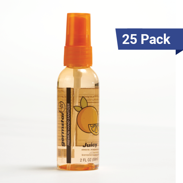 2oz Spray Bottles Juicy 25 Pack