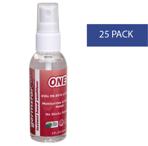 2oz Spray Bottles ONE 25 Pack