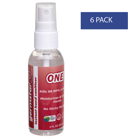 2oz Spray Bottles ONE 6 Pack