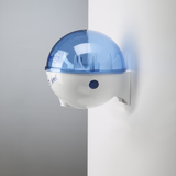 32oz Dispenser w/ Wall Mount White/Blue