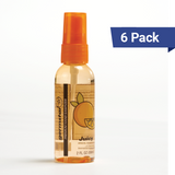 2oz Spray Bottles Juicy 6 Pack