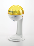 32oz Dispenser w/ Tablestand White/Yellow