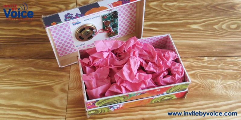 How to Make a Musical Gift Box for Mother's Day