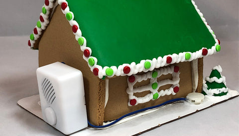Personalized Gingerbread House With Sound