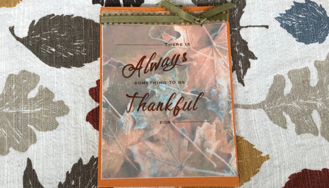 Thanksgiving Gift Ideas Card