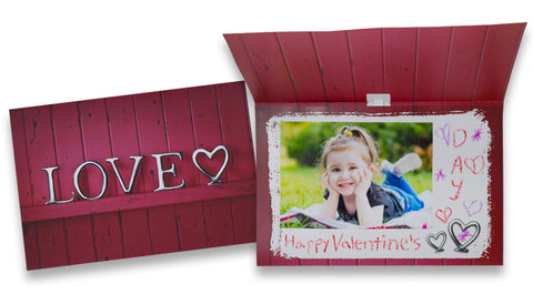 Valentines Day Cards for Him from Child