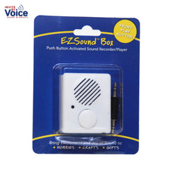 Easily recordable sound box