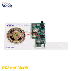 recordable card insert slide tongue sound module for greeting card