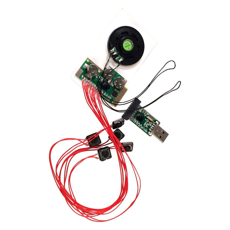 5-Button Push Musical Sound Voice Module