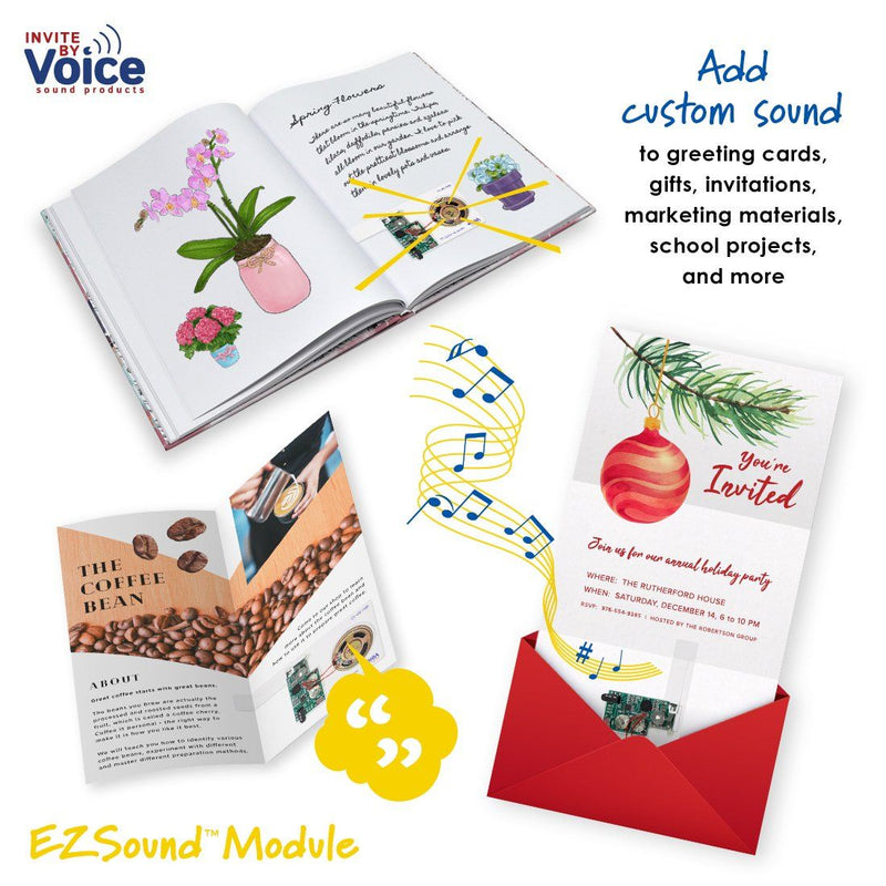 EZSound Module recordable marketing brochure