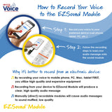record voice message to EZSound module