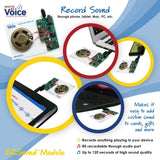ezsound chip to create recorded voice gift