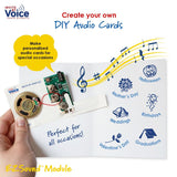 EZSound voice recording module for greeting cards