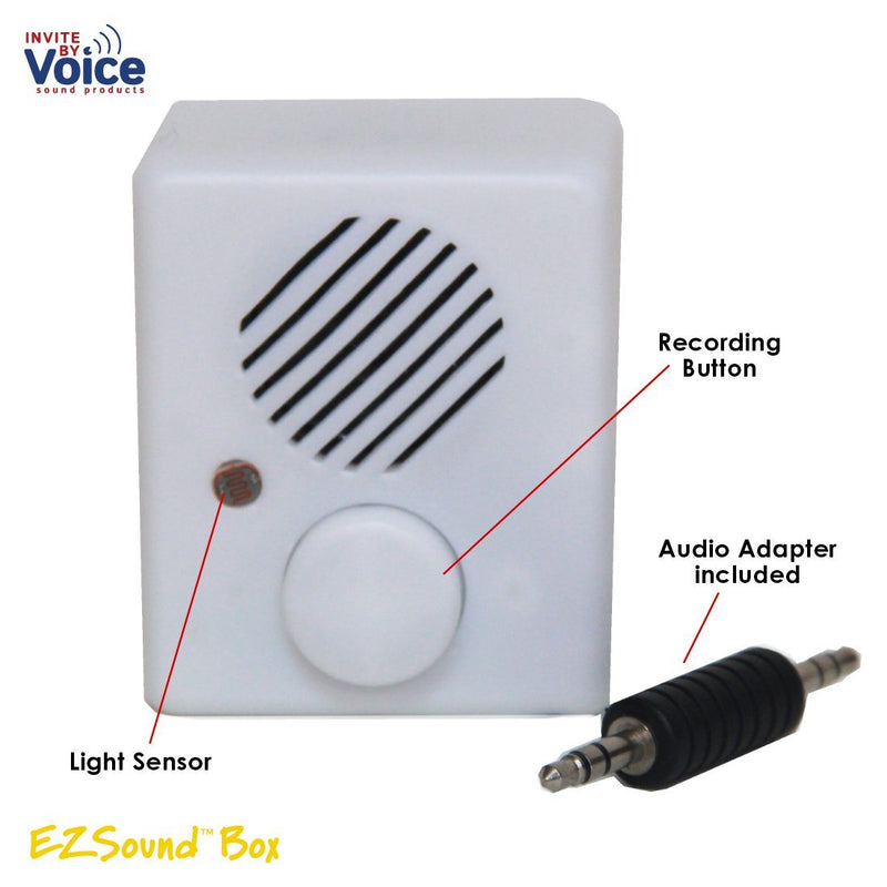 light sensor recordable voice insert