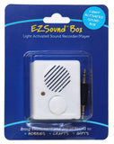 recordable sound box light activated