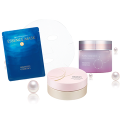 The Beauty Of Glowing Skin With Mikimoto's Pearl Cosmetics
