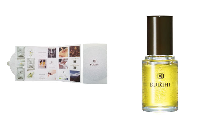 Buddhi Retreat Oil Rose Forest NOBARA + Hãy thử dùng thử SET Dùng thử Kits