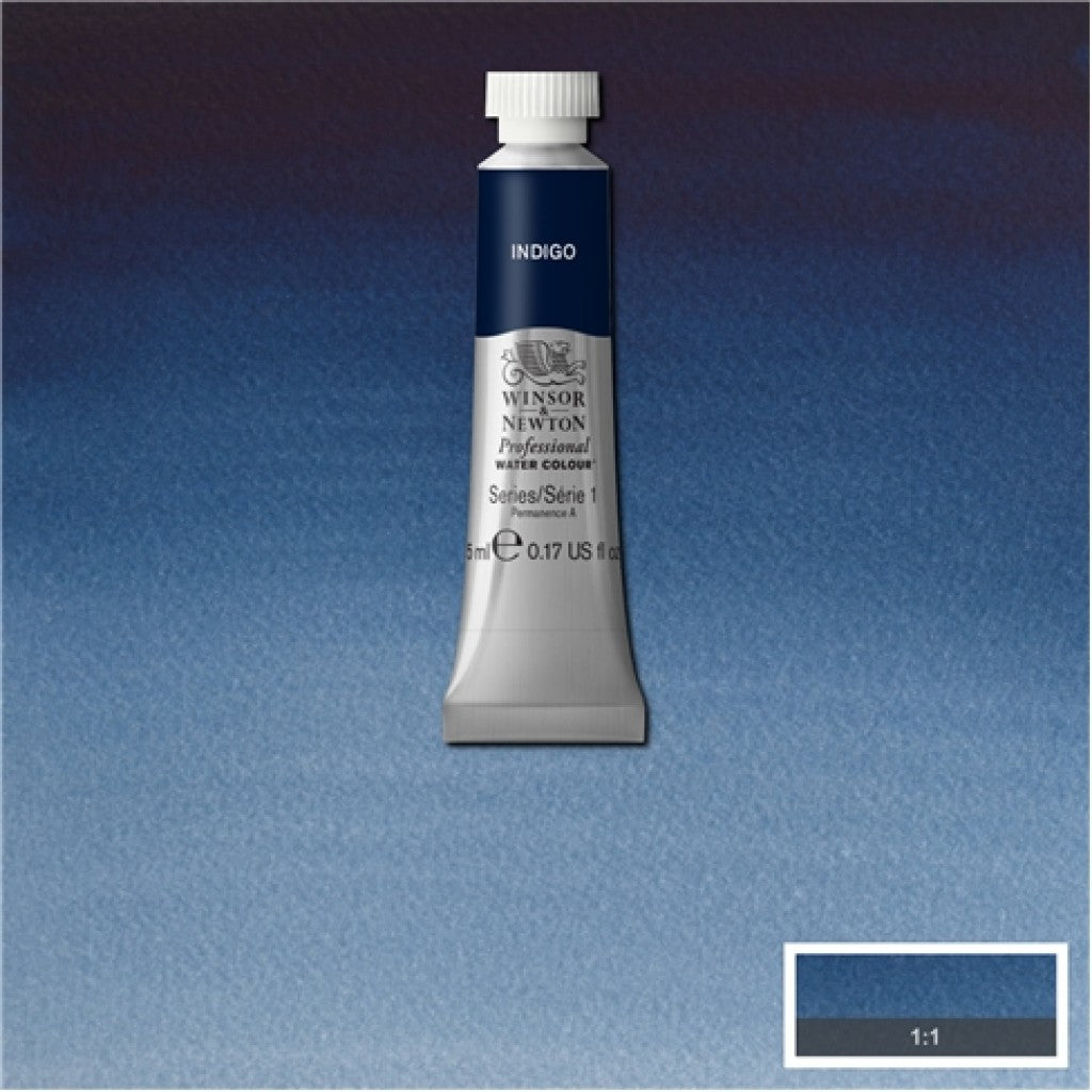 W&N Akvarell Artists 5ml tube - 322 Indigo