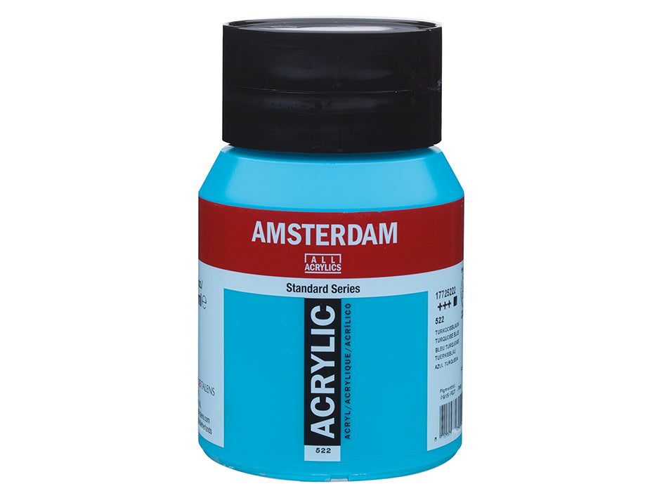 Amsterdam Standard 500ml - 522 Turquoise blue
