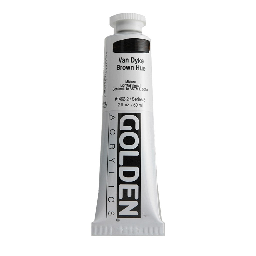 Golden Heavy Body 59ml - 1462-2 - VanDyke Brown Hue