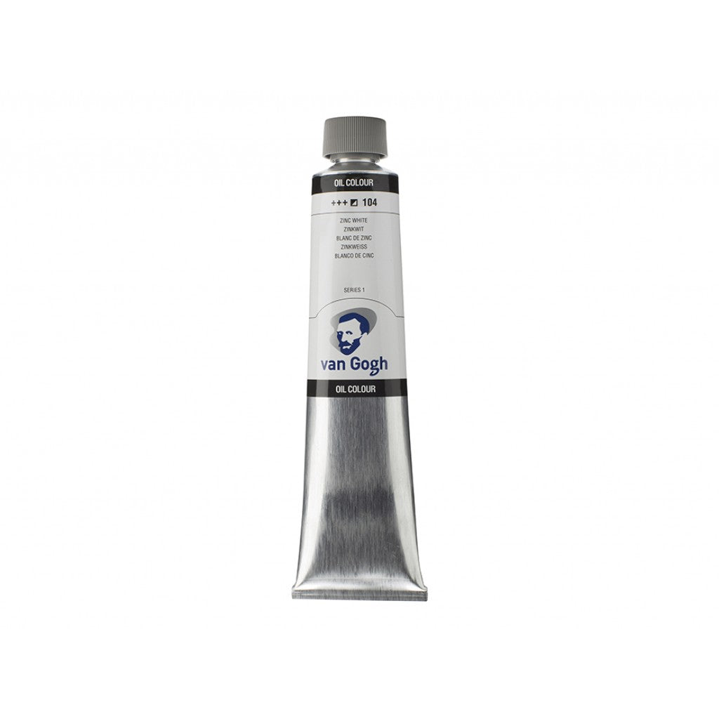 Van Gogh Olje 200ml - 104 Zinc White