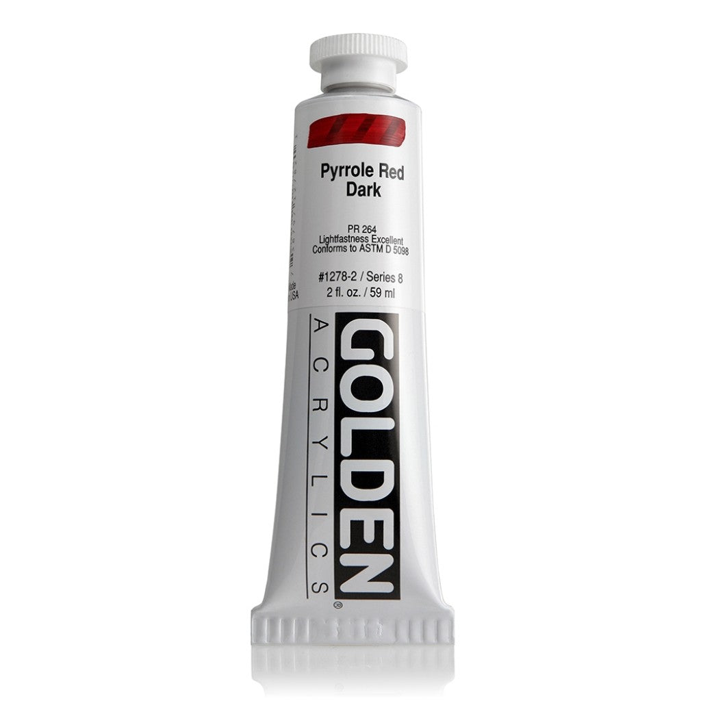 Golden Heavy Body 59ml - 1278-2 - Pyrrole Red Dark