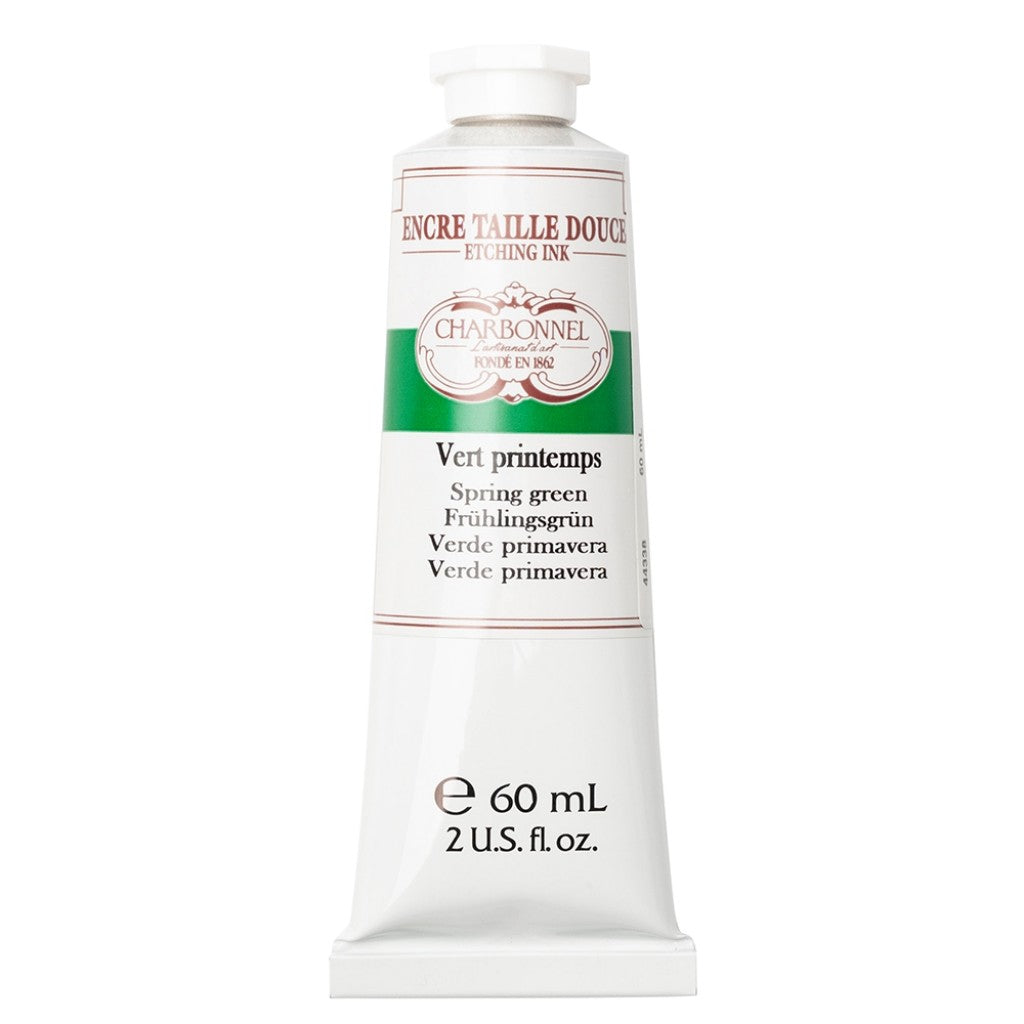 Charbonnel Etching Ink - Spring Green 60ml.